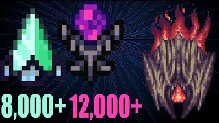 terraria crazy buffed up Prism break and Eroded Prism vs Supreme Calamitas