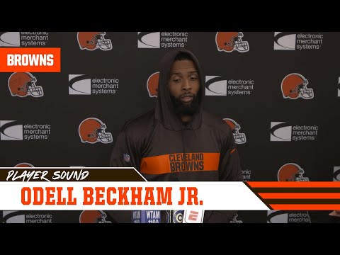 Odell Beckham Jr : We are at the fork in the road for the season | Player Sound