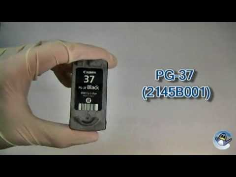 How to Refill Canon PG-37 Black Ink Cartridge