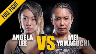 FULL FIGHT UNLOCKED: Angela Lee vs Mei Yamaguchi