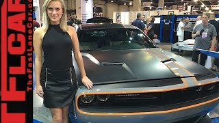 World's Only All-Wheel-Drive Dodge Challenger GT AWD @SEMA