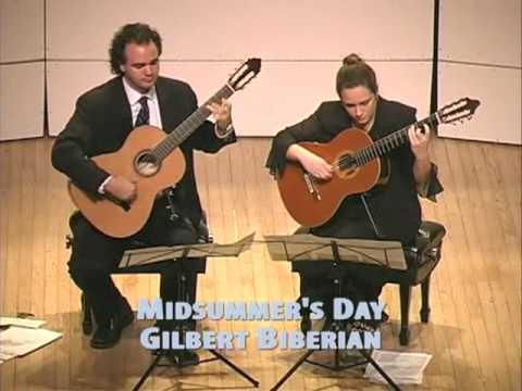 Robinson Guitar Duo Midsummer's Day