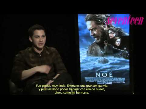 Entrevista Logan Lerman por su nuevo papel en Noé