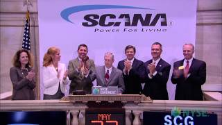 SCANA Corporation Visits the New York Stock Exchange