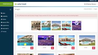 Hotel Extranet System - wbe.travel (21.03.2018)
