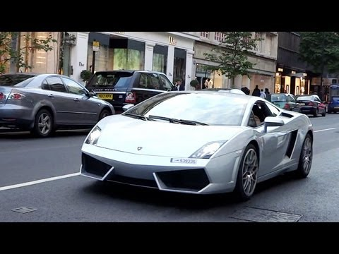 Wealthy Arab Lamborghini Owner Flirts With Mercedes Girls In London! Loud Revs + Combos! video