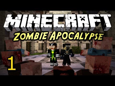 Minecraft: Zombie Apocalypse w/ AntVenom! [Part 1]