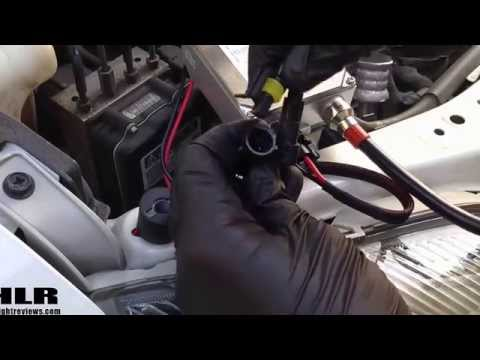 How to install HID Conversion Kit Light : 2010 Toyota Camry | Meng Motorsports