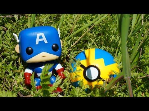 Супергерои и Покеболы. Игрушки для детей #ПОКЕМОНЫ