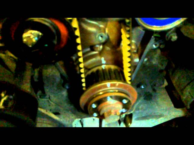 land rover discovery timing belt 2.7Tdi - YouTube