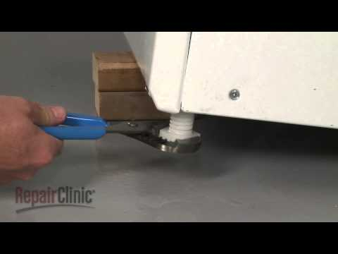 Leveling Leg - Frigidaire Washer: Top-Loading