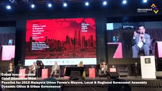 2019 MUF's Mayors, Local & Regional Government Assembly - Dynamic Cities & Urban Governance