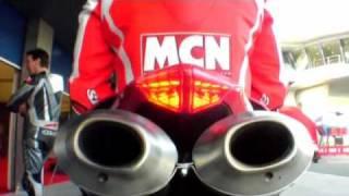 Ducati 1098R first ride