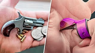 9 NEW LEVEL DESTRUCTIVE AND SELF DEFENSE GADGETS