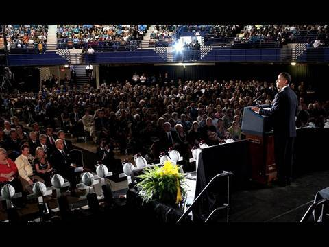 President Obama Gives Eulogy for West Virginia Miners