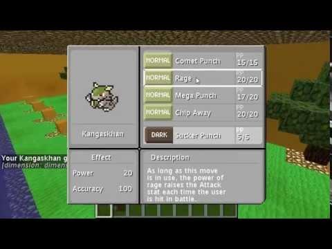 Minecraft Pixelmon ตอนที่ 6 จิงโจ้หมัดพลังดึงดูด