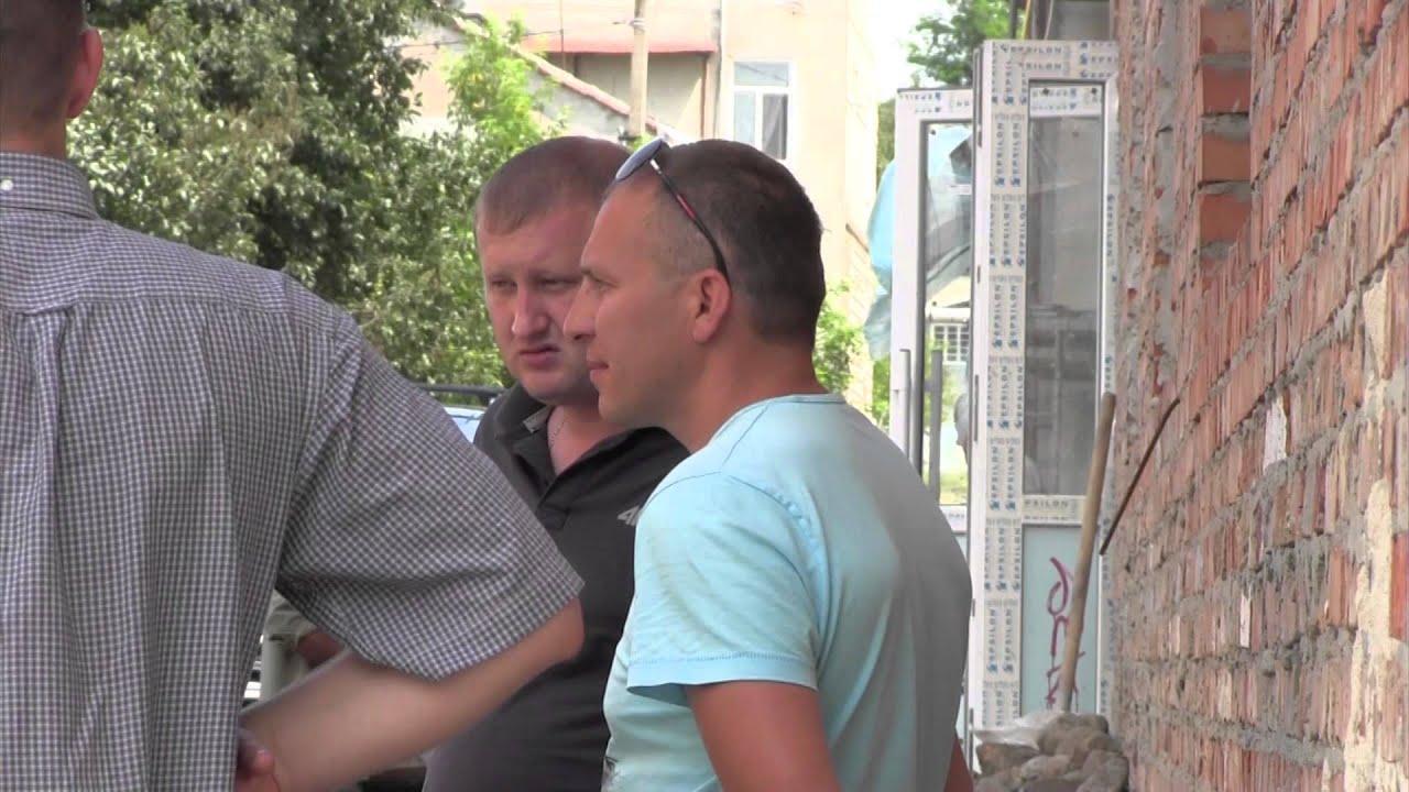 Історичну знахідку на Грушевського у Калуші залили бетоном