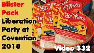 2018 Hot Wheels Convention – Blister Pack Liberation - Video #332 – October 4th, 2018