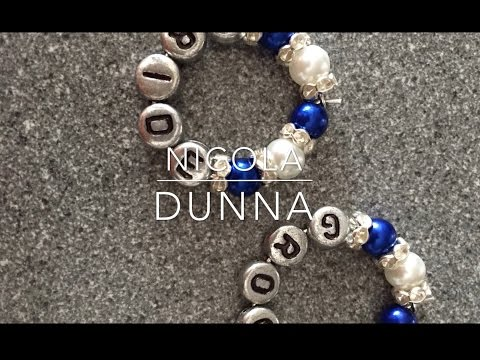 Making Wine Glass Charms   Nicola Dunna