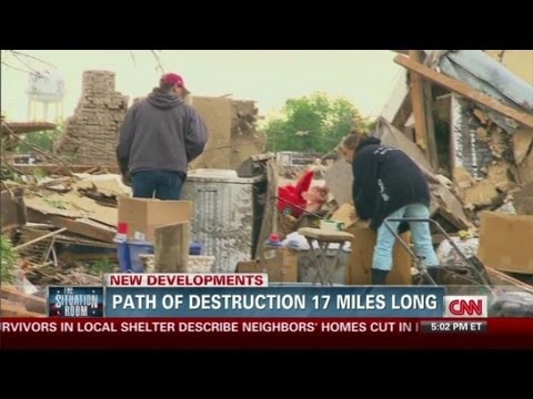 Mayor tours OK Tornado devastation