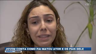 Filha de assassino de Rafael Miguel conta que homem era agressivo