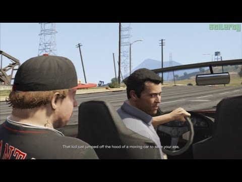 GTA 5 PS3 - Mission #4 - Father/Son - Alternative Cutscene #2