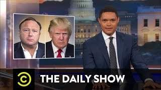 Alex Jones: Conspiracy Pusher or Performance Artist?: The Daily Show