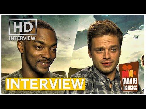 Captain America 2 | Winter Soldier vs. Falcon EXCLUSIVE Interview (2014)