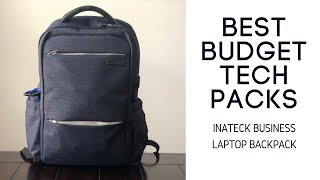 Best Budget Tech Bags: Inatek Business Travel Laptop Backpack Review