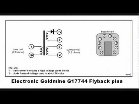 Finding flyback pin connections