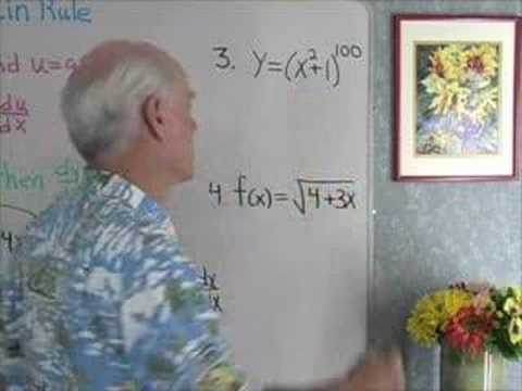 Calculus: Chain Rule 1 Video