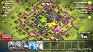 Clash of Clans - 11 Dragons Test. Ejderha Testi