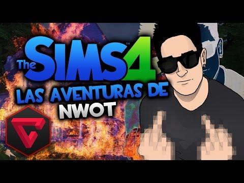 LOS SIMS 4: INTENTANDO LIGAR LAS AVENTURAS DE NWOT