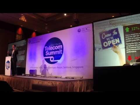 Koert Breebaart on Customer Centricity - IDC Telecom Summit 2014