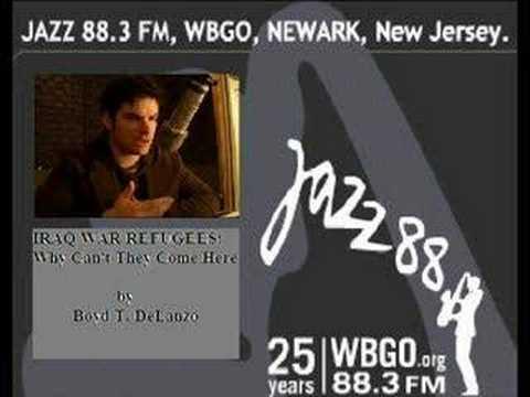 88.3 FM WBGO Newark Public Radio -- Boyd T. Delanzo's Work