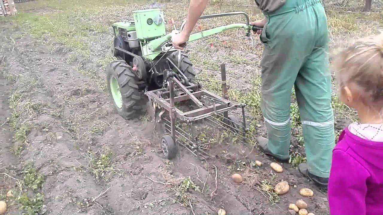 Картофелекопалка своими руками: как сделать самодельную