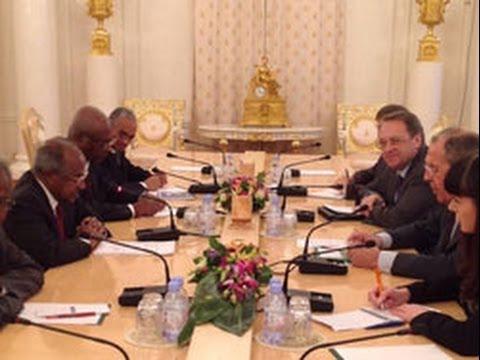Eritrea: High-level Eritrean delegation meets Russian officials | Eri-TV News