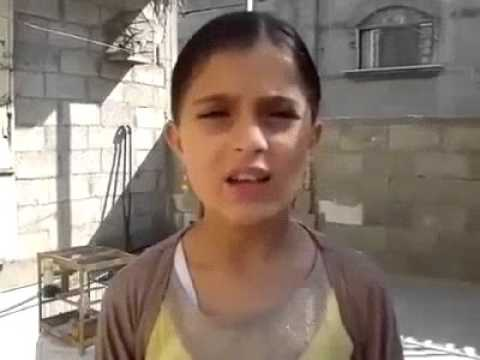 A message from a young girl in Gaza to Israel and the world