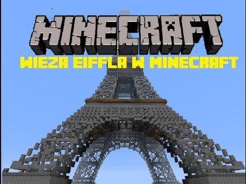 Wieża Eiffla w Minecraft