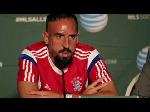 Franck Ribery: Thierry Henry einer der besten Stürmer aller Zeiten | MLS Allstars - FC Bayern