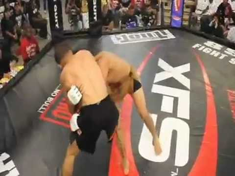Nick Kaluza vs Abraham Nava Xplode Amateur Fight Series