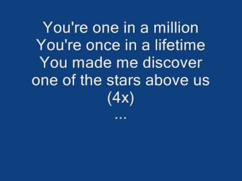 Bosson - One In A Million (karaoke) video