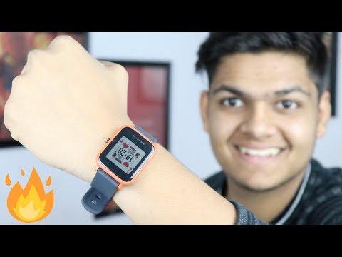 Xiaomi Amazfit Bip Smartwatch with 50 Days Battery Life INSANE!!