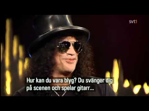 Slash Interview@Skavlan Swedish Televison 2010-11-05