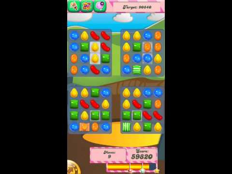 Candy Crush Saga Level 33, COMPLETED (no Booster) | How To Make & Do
