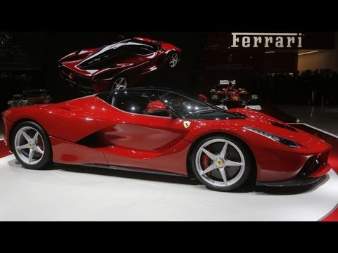 "New ""La Ferrari"" Hybrid Sports Car - Geneva Motor Show"
