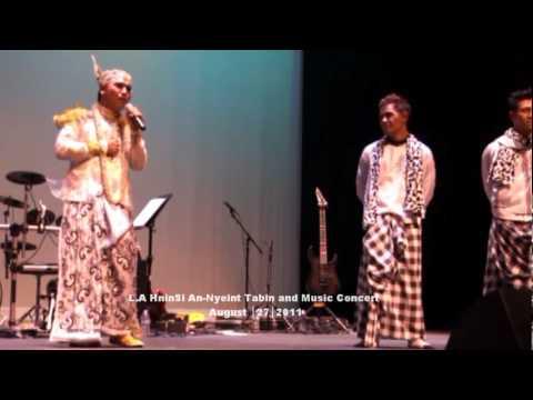L.A. AnNyeint Thabin performed by Tin Maung San Min Win with Kyaw Kyaw Bo and Tun Tun
