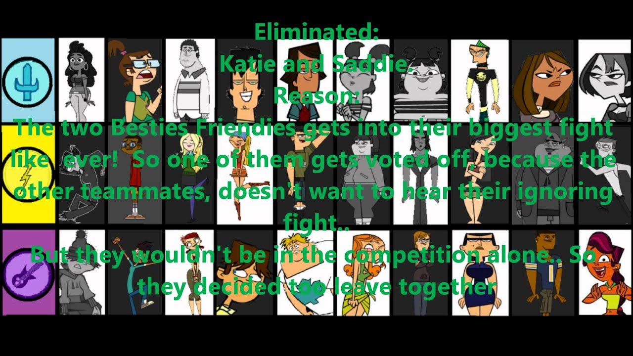 Total Drama Season 5 Heroes vs Villains Total Drama Season 5 my