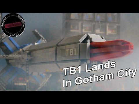 Lego Thunderbird 1 Lands In Gotham City