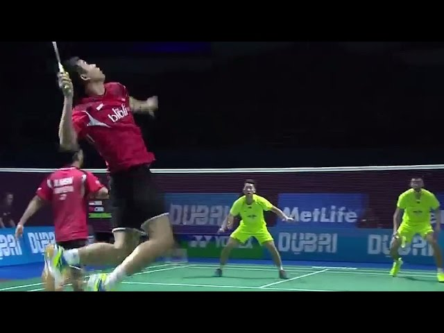 MD -  Mohammad AHS/Hendra SET vs CHAI Biao HONG Wei Destination Dubai 2014: Day 1 - Match 5